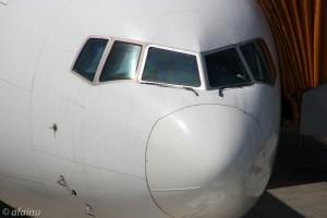 飛行機(望遠)