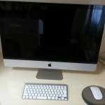 iMac (開梱直後)