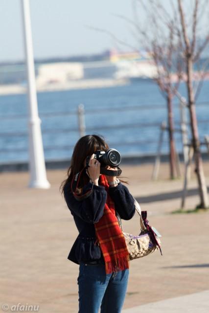 神戸のカメラ女子
