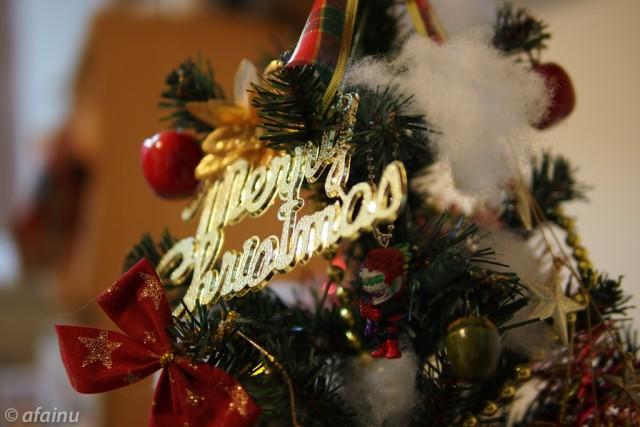 アンクのクリスマスツリー