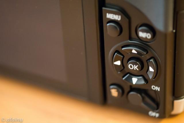 E-M5背面ボタン周り