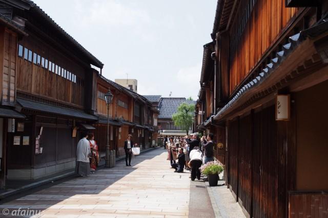 古い街並からの門出