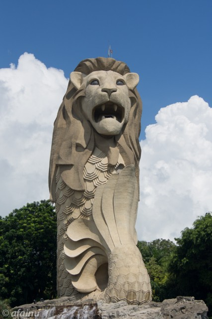 Bigger Merlion