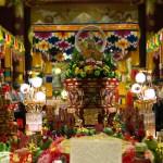 Mid Autumn Chinese Temple