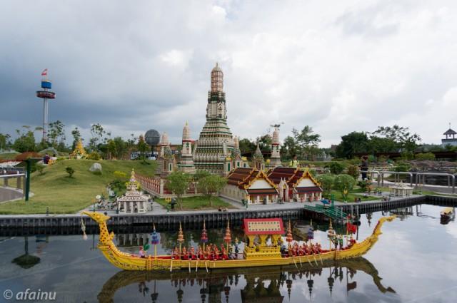 Wat Arun by Lego