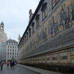 ドレスデン城の壁画