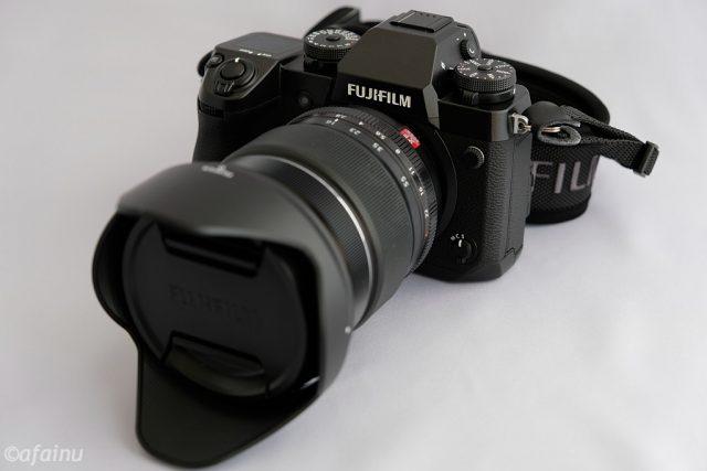 X-H1とXF16-55mmF2.8