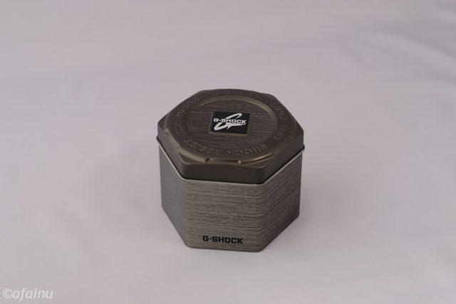 G-SHOCKの缶