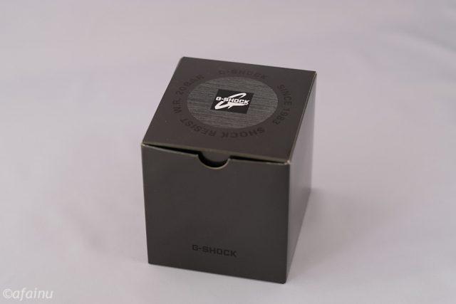 G-SHOCKの箱
